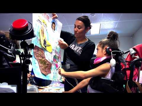 Bridge School News Network 2016-2017 - Door Art