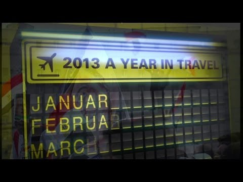 TRAVEL HIGHLIGHTS OF 2013 - FAST TRACK - BBC NEWS