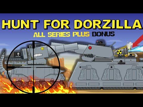 Hunt For Dorzilla All series plus Bonus - Cartoons about tanks