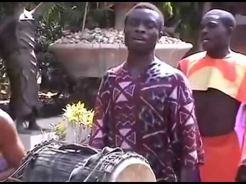 Afro Moses featuring Akatakyie Drumming Dancing & Acrobat Show live in Ghana