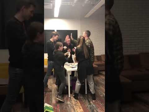 Настольная игра Вобла в офисе