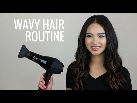Wavy Hair Routine! All-Natural/Cruelty-Free   Teri Miyahira