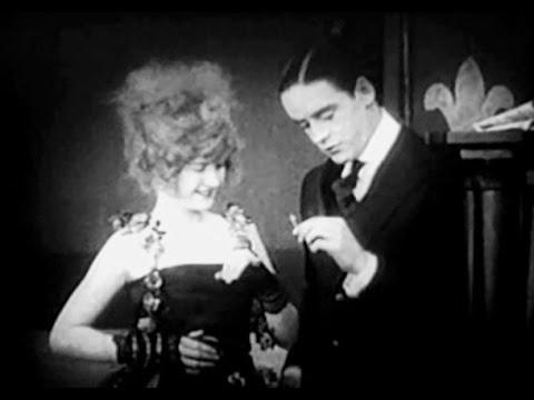 """A Child of the Paris Streets"" (1916) Mae Marsh, Robert Harron"
