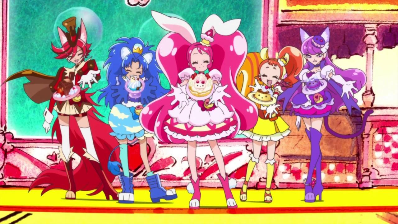 【キラキラ☆プリキュアアラモード】オープニング 「SHINE!! キラキラ☆プリキュアアラモード」 (歌:駒形友梨) , YouTube