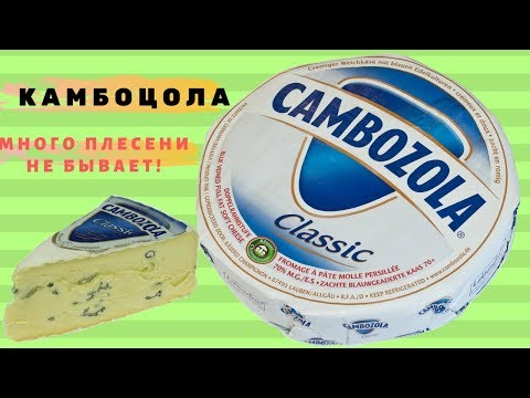 Обзор сыра Камбоцола. Горгонзола и Камамбер в одном флаконе!