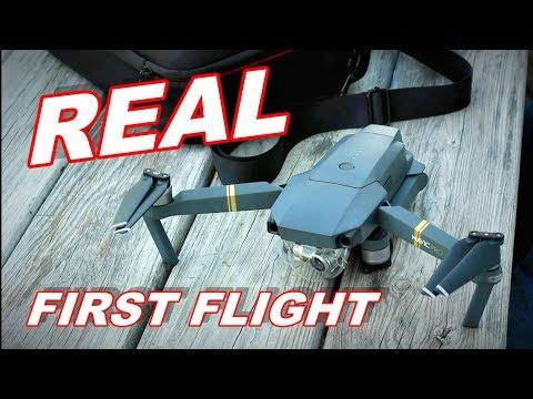 DJI Mavic Pro True First Full Flight - Raw, Uncut, Unedited - TheRcSaylors