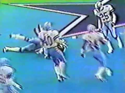 Washington Redskins vs Dallas Cowboys 12/11/83 1st Half WK 15