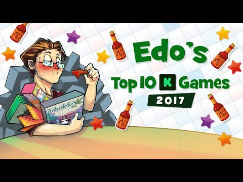 Edo's Top 10 Kickstarter Games of 2017