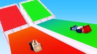 RUTSCHE IN DEN RICHTIGEN POOL!! - Minecraft Lucky Block