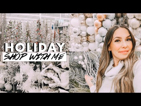 🎄ULTIMATE CHRISTMAS DECOR SHOP WITH ME 2019 | AT HOME + HOBBY LOBBY HAUL