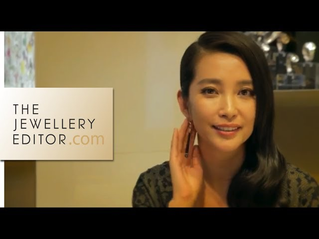 Li Bingbing on Gucci's eco Bamboo watch