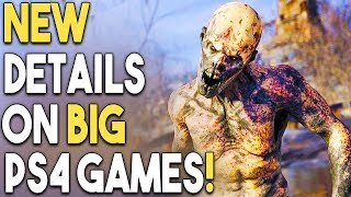 NEW Details on BIG PS4 Games - Metro Exodus, BF5, SOTR and MORE!