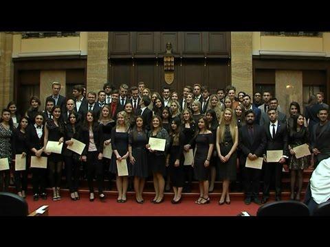 Feierliche Immatrikulation der Comenius Universität 2016!