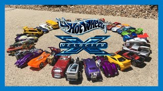 Hot Wheels Velocity X: All Cars (THE COMPLETE COLLECTION)
