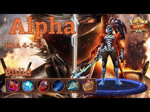 Mobile Legends: Alpha Build Offtank \ Initiator
