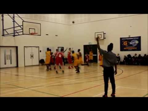 Under 14s England Basketball National Schools Semi Finals Raines vs Shoesburyness High School