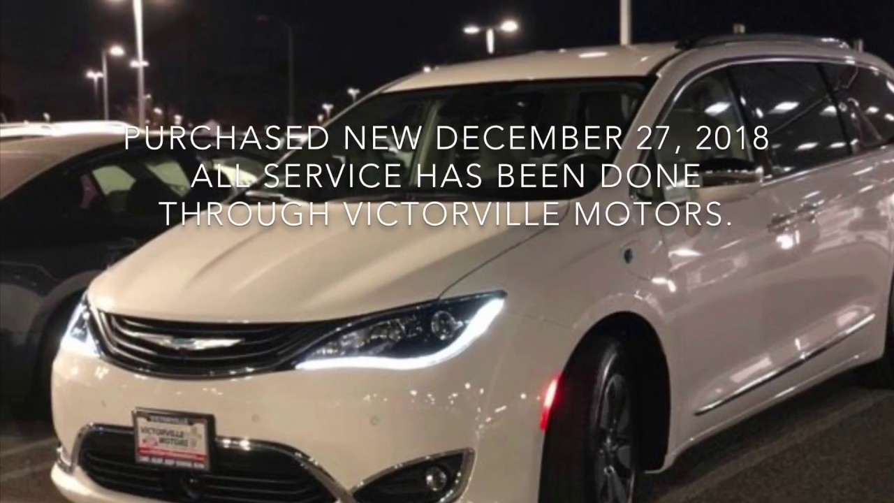 2018 Chrysler Pacifica Hybrid Problems