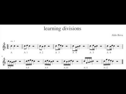 learning divisions for recorder   (lesson 1)