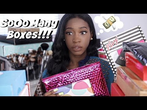 Subscription Box Overload!! 20 Subscription Services Reviewd (Ipsy, Sephora, Birchbox & More)