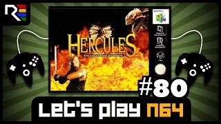 Lets Play N64 #80 - Hercules: The Legendary Journeys