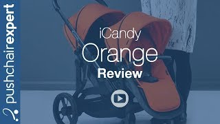 iCandy Orange Pushchair - Up Close Review