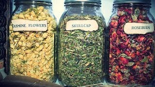 How To Make Labels For Herb Jars: Vintage Style