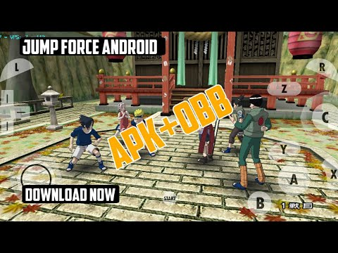 Jump Force Android Game || Apk+Obb || Download Easily For Android || Jump  Force Android