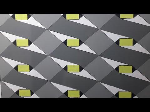 3d wall painting   3d wall decoration effect   3d wall texture new design ideas   interior design