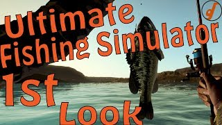 Ultimate Fishing Simulator Review - Early Access First Look (Video Game Video Review)