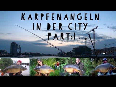Karpfenangeln in Berlin City Part :1 ( StadtAngler.TV )