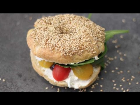 bagel-végétarien