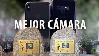 ¿Es mejor la cámara del iPhone XS que la del Note9?
