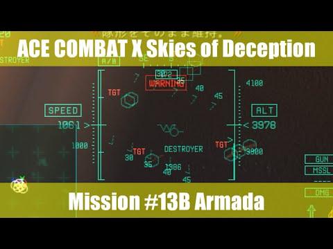 [M:13B] エースコンバットX スカイズ・オブ・デセプション/ACE COMBAT X Skies of Deception