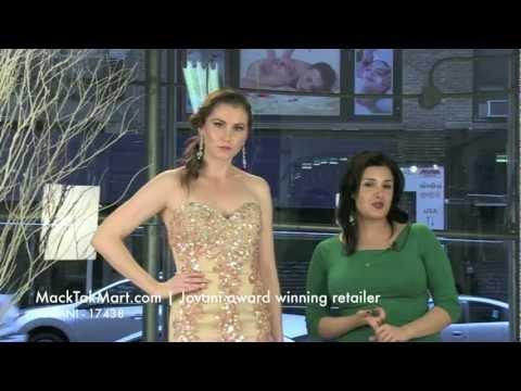 MackTakMart.com   Jovani 17438 Dress Video