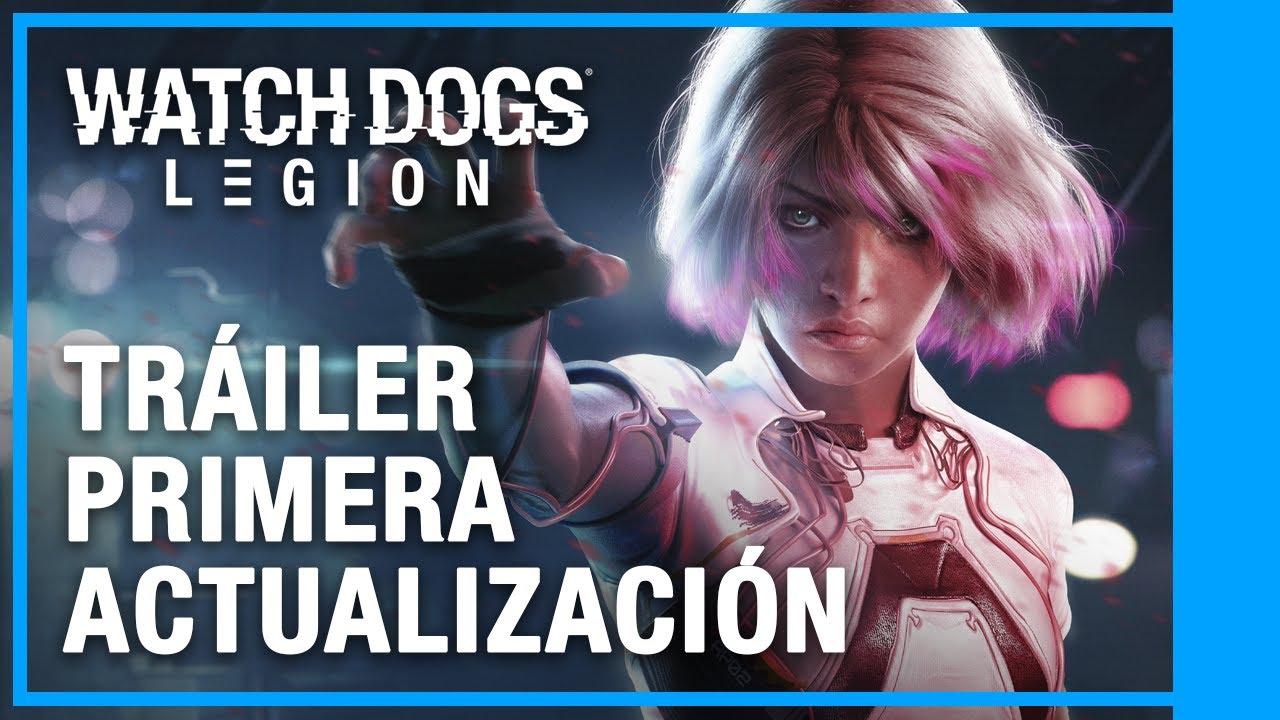 Watch Dogs: Legion - Primera Actualización Tráiler de Lanzamiento   Ubisoft LATAM