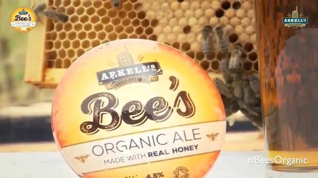 Bee's Organic (Keg) - Arkell's Brewery.