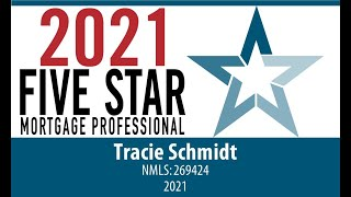 5 Star Mortgage Professional Award