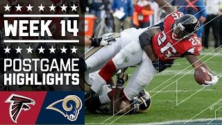 Falcons vs. Rams | NFL Week 14 Game Highlights