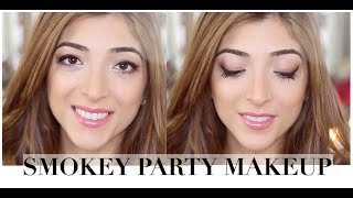 My Christmas Party Makeup - Smokey Eye | Amelia Liana (ad)