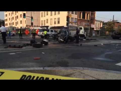 H Street NE crash