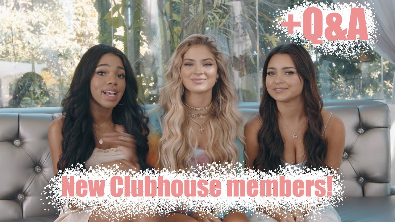 Q&A with the new members of the Clubhouse! | Clubhouse BH