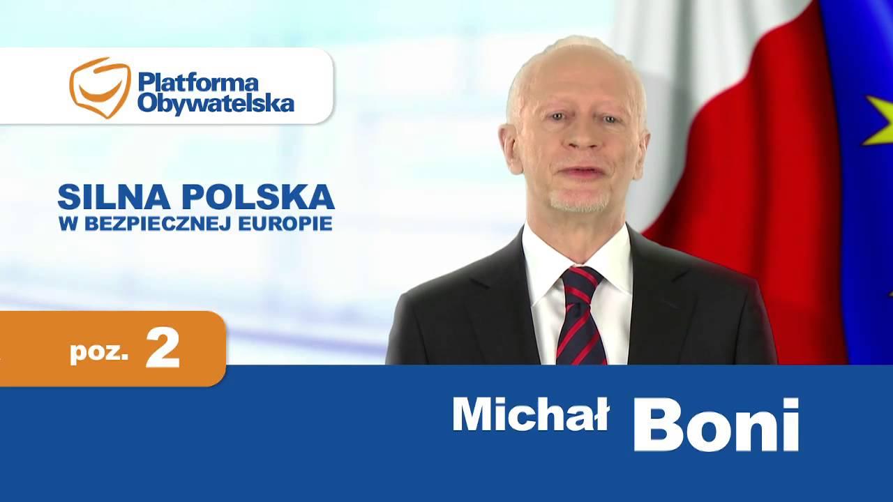 Znalezione obrazy dla zapytania Michał Boni