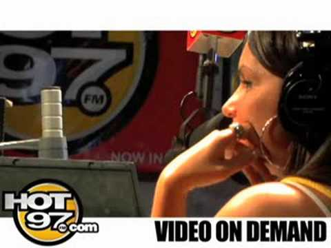 HOT 97- Angie Interviews Jazmine Sullivan