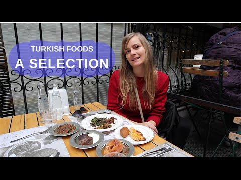 Turkish Foods |A Selection of Dishes from the South