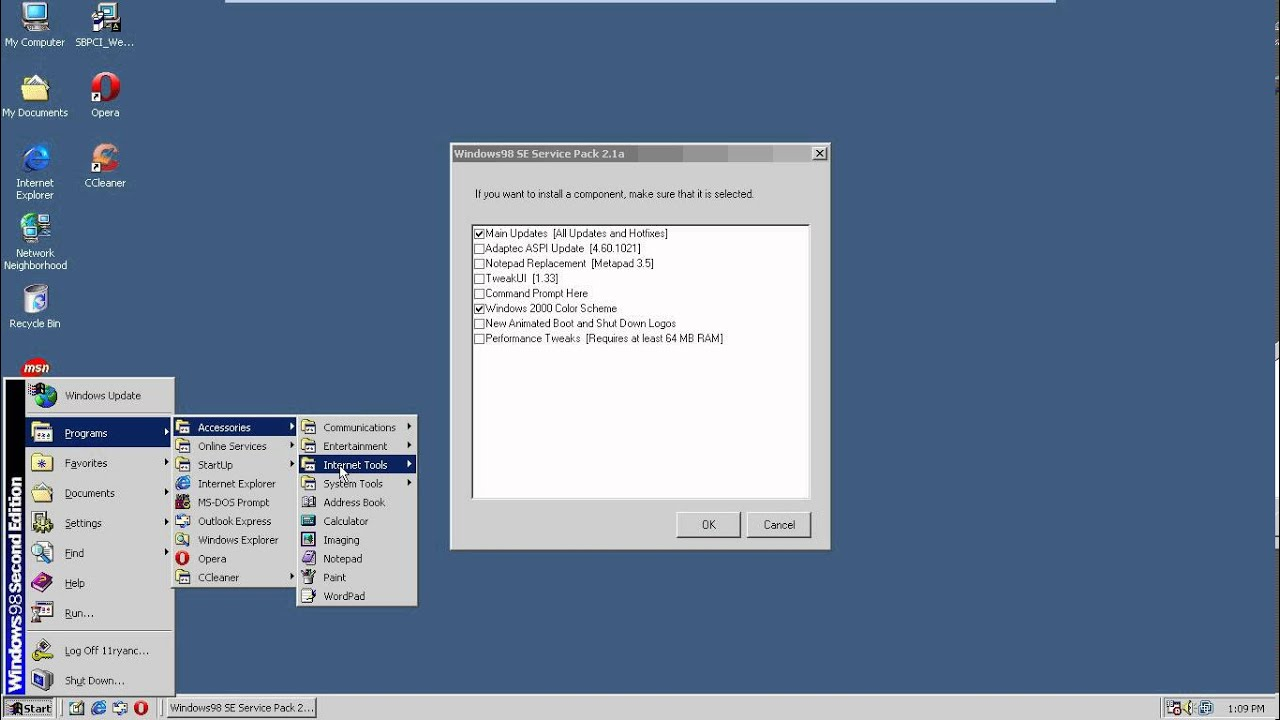 Windows 98 se second edition iso for Window 98 iso