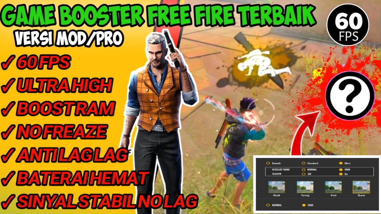 Game Booster Free Fire Terbaik Versi mood/Pro Cara ...