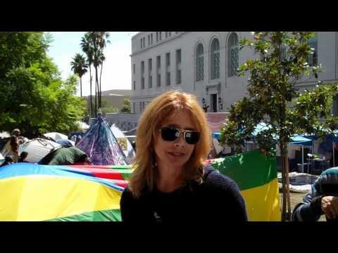Rosanna Arquette In Solidarity