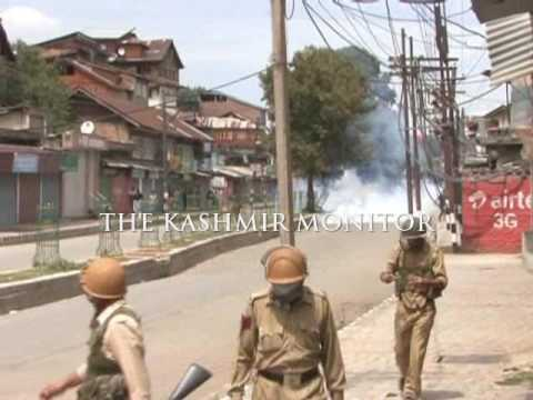 Clashes in downtown Srinagar