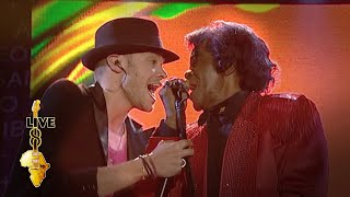 James Brown / Will Young - Papa's Got A Brand New Bag (Live 8 2005)