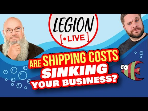 Are RISING Shipping Costs Sinking your Amazon Business?! | Legion Live